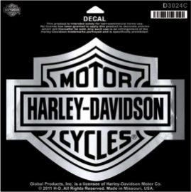"AUTOCOLLANT "" BAR AND SHIELD CHROME LG"" - HARLEY-DAVIDSON"