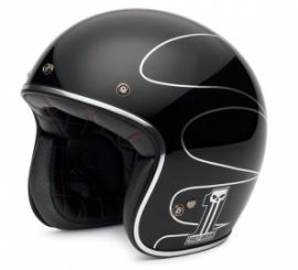 "Casque ""HLMT, ELITE RETO GLOSS BLACK"" - HARLEY - DAVIDSON"