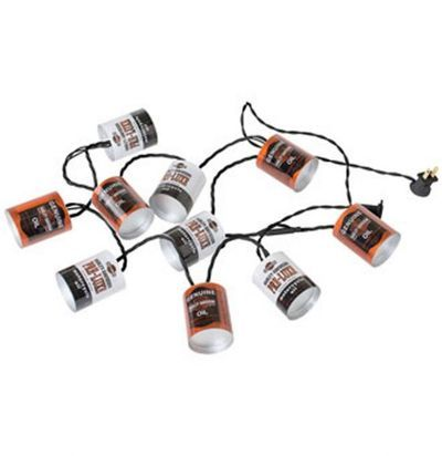 "Guirlande électrique ""OIL CAN PARTY LIGHTS"" - HARLEY - DAVIDSON"