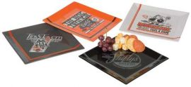 "Assiettes ""PIT STOP SNACK PLATE SET"" - HARLEY - DAVIDSON"
