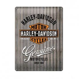 "Plaque "" GENUINE""- Harley-Davidson"