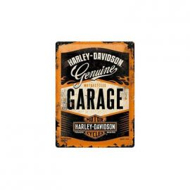 "plaque ""Garage""- harley-davidson"