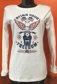 "T-SHIRT ML "" MINGLED "" HARLEY DAVIDSON"