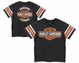 "T-SHIRT "" BAR AND SHIELD"" - HARLEY DAVIDSON"
