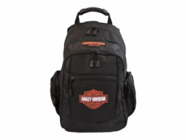 "SAC A DOS ""CLASSIC ORANGE BLACK"" HARLEY-DAVIDSON"