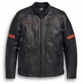 Blouson moto cuir ou nylon
