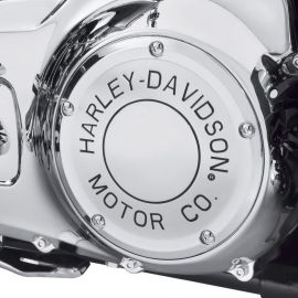 "trappe d'embrayage ""DERBY COVER""  MOTOR CO- Harley-Davidson"