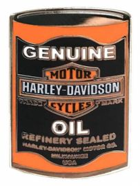 "PINS ""OIL CAN"" - HARLEY-DAVIDSON"