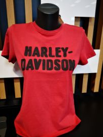 "T-SHIRT ""COUTURE CHAINE"" - HARLEY-DAVIDSON"