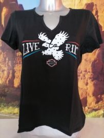"T-SHIRT ""HIGHWAY REMEDY"" - HARLEY-DAVIDSON"