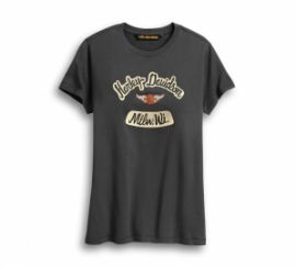 "T-SHIRT ""DISTRESSED GRAPHIC"" - HARLEY-DAVIDSON"