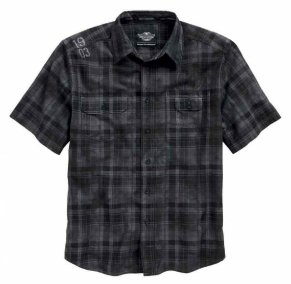 "CHEMISE MC ""DISTRESSED PLAID"" - HARLEY-DAVIDSON"