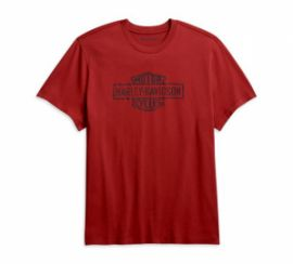 "T-SHIRT ""KNIT RED"" - HARLEY-DAVIDSON"