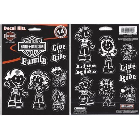 "DECAL ""FAMILY"" HARLEY-DAVIDSON"
