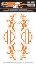"DECAL ""TRIBAL B&S"" HARLEY-DAVIDSON"