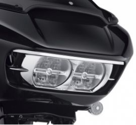 Habillage de phare ROAD GLIDE chrome