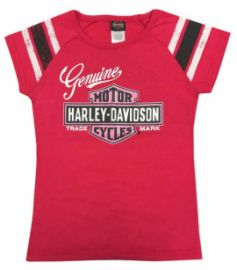 T shirt Genuine Girl Harley-Davidson