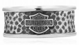 "Bague "" HAMMERED BAND RING ""- Harley- Davidson"
