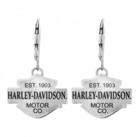 "Boucle d'oreille ""BS""- Harley- Davidson"