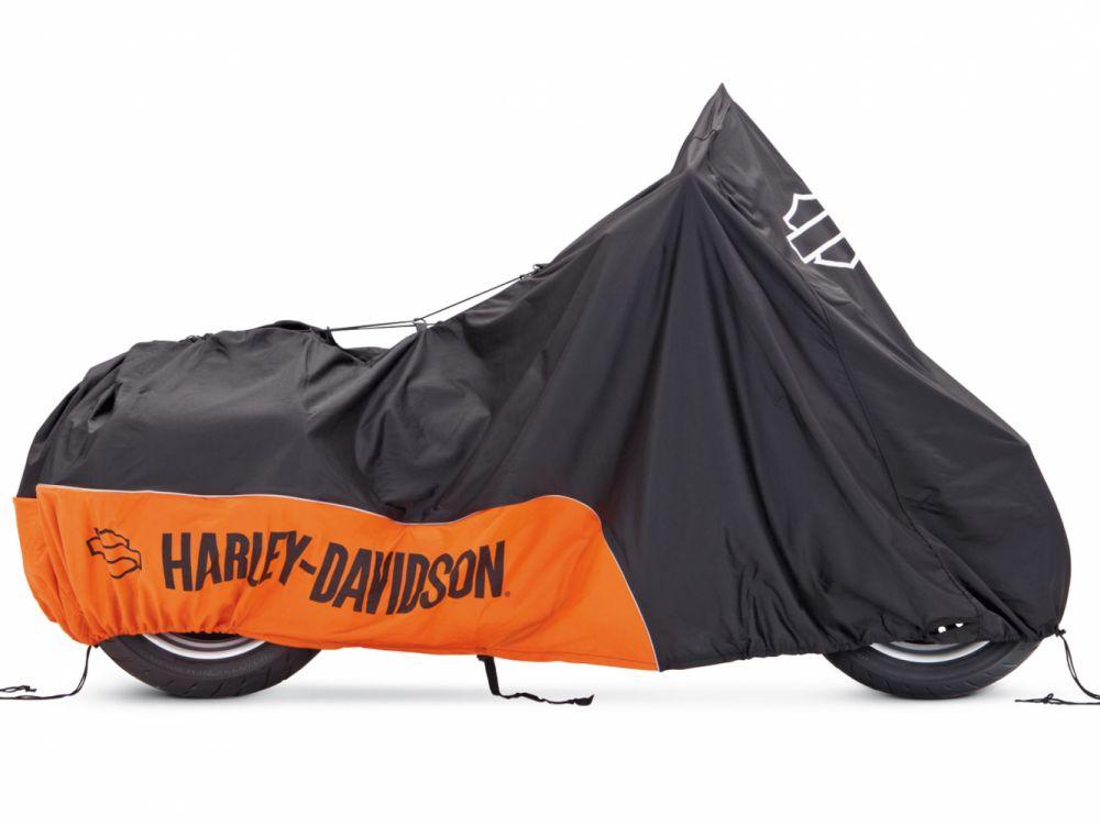 Housse de moto interieur universel harley davidson for Housse moto harley davidson
