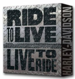 "Tableau ""HD RIDE TO LIVE""- Harley- Davidson"