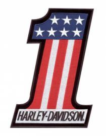 "ECUSSON ""RED WHITE BLUE SM"" HARLEY DAVIDSON"