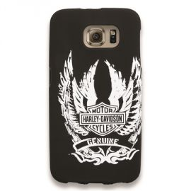 "COQUE "" GALAXY S6 WINGED B&S "" HARLEY DAVIDSON"