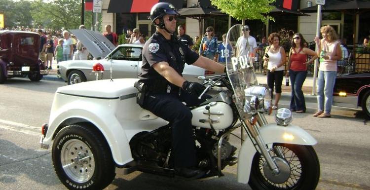 Trike police 1969
